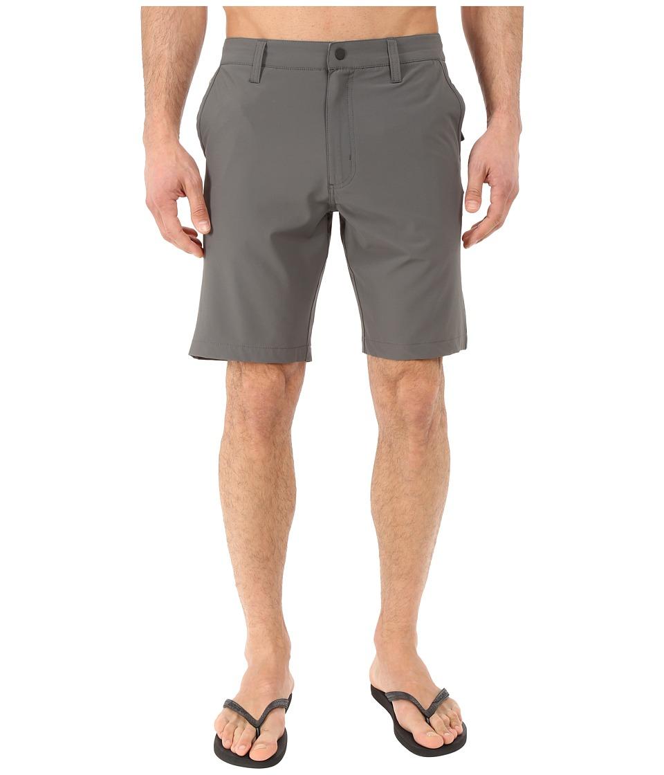 Quiksilver Waterman Vagabond 2 Amphibian Short Dark Shadow Mens Shorts