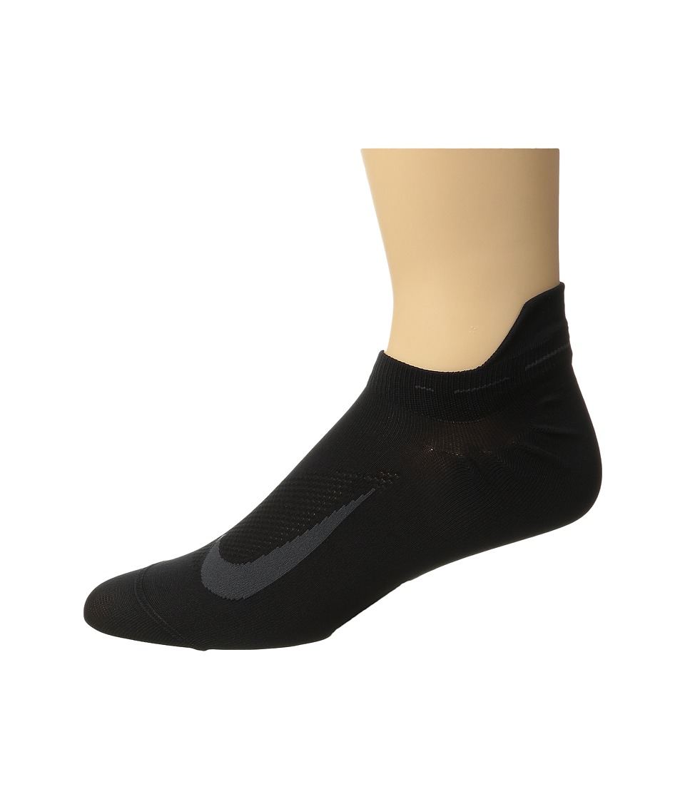 Nike Elite Running Lightweight No Show (Black/Anthracite/...