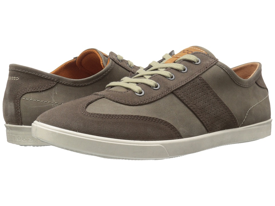 ECCO Collin Retro Sneaker Dark Clay/Tarmac Mens Shoes