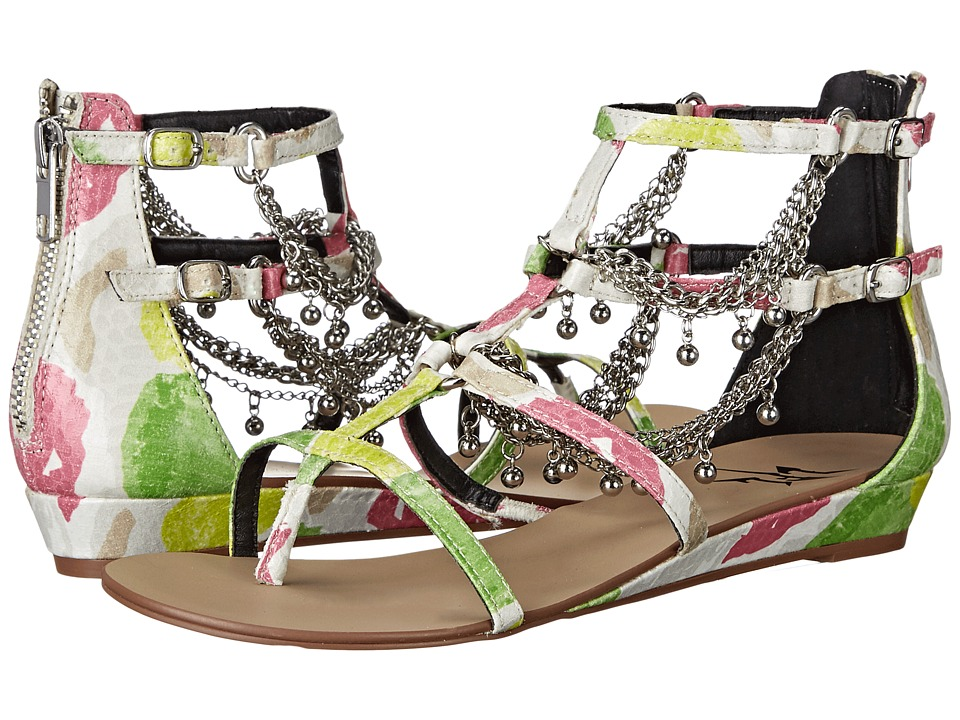 LFL by Lust For Life Angel White Multi Womens Sandals