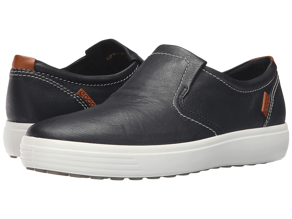 ECCO Soft VII Slip-On (Black) Men