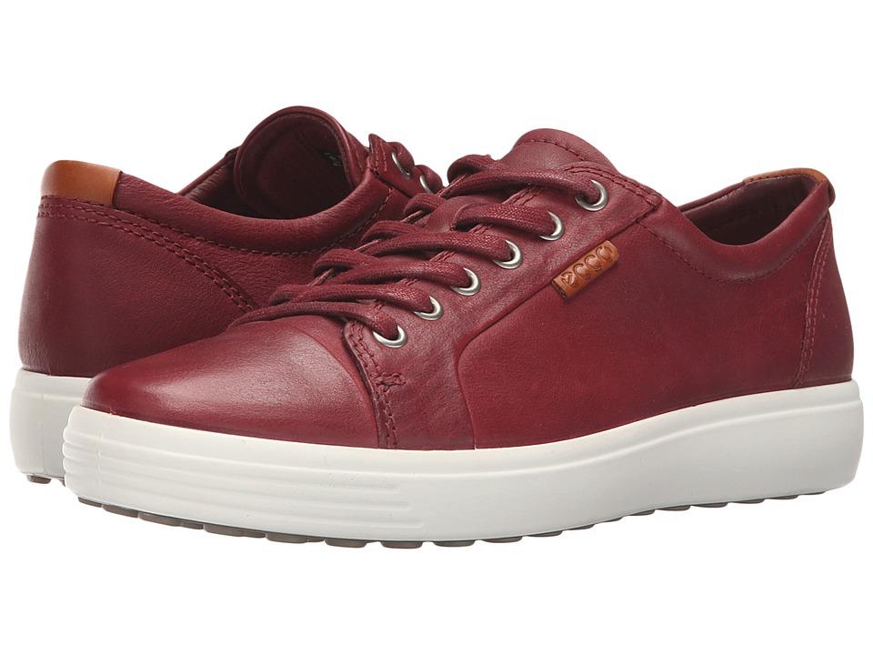 ECCO - Soft VII Sneaker (Port) Men