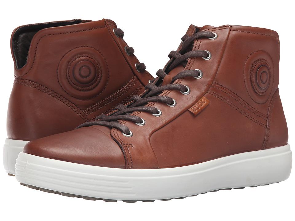 ECCO Soft VII Boot (Mahogany) Men
