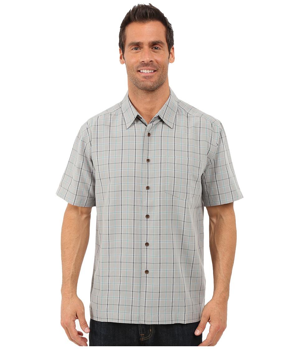 Quiksilver Waterman Malindi Shirt Wild Dove Mens Clothing