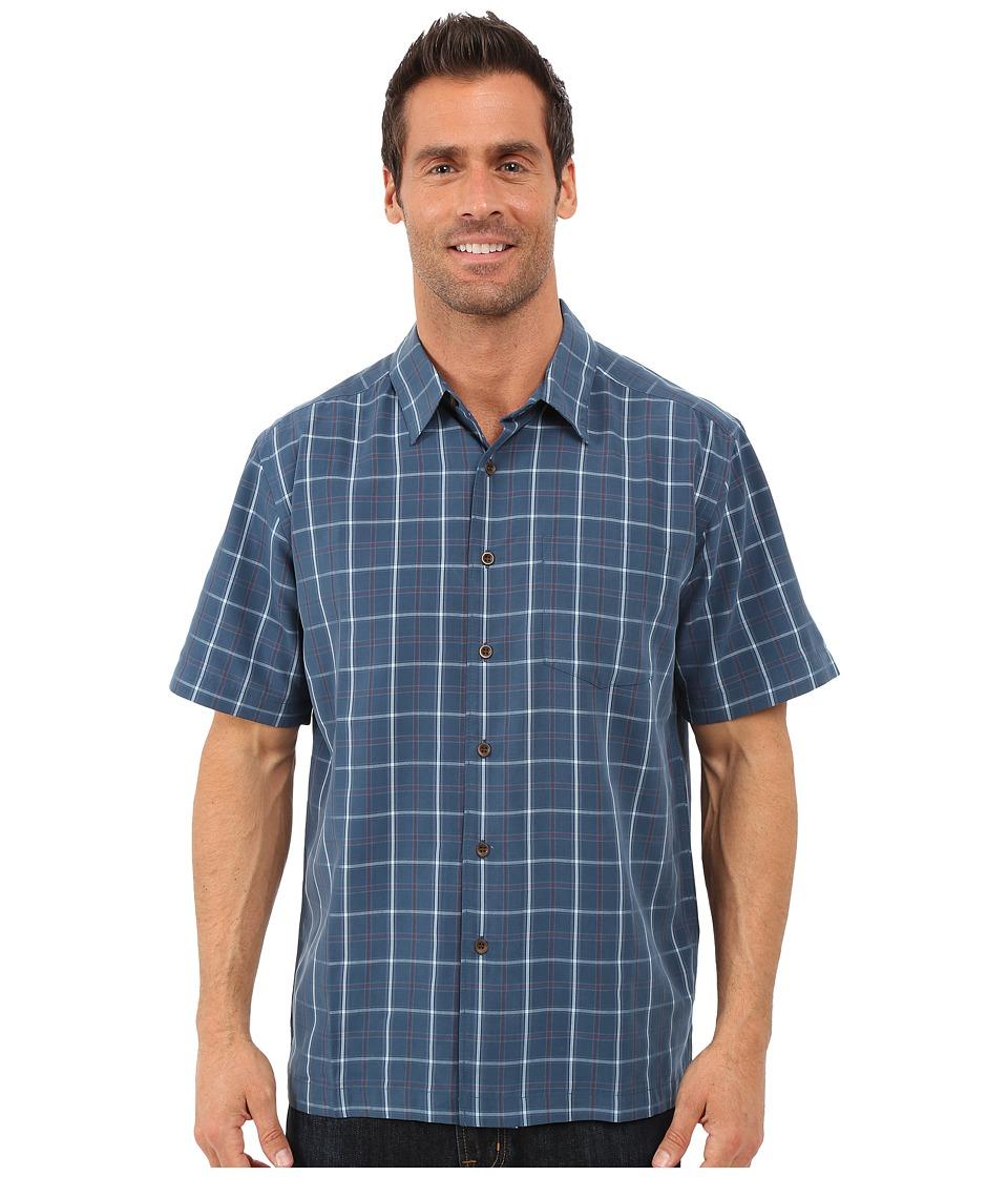 Quiksilver Waterman Malindi Shirt Major Blue Mens Clothing