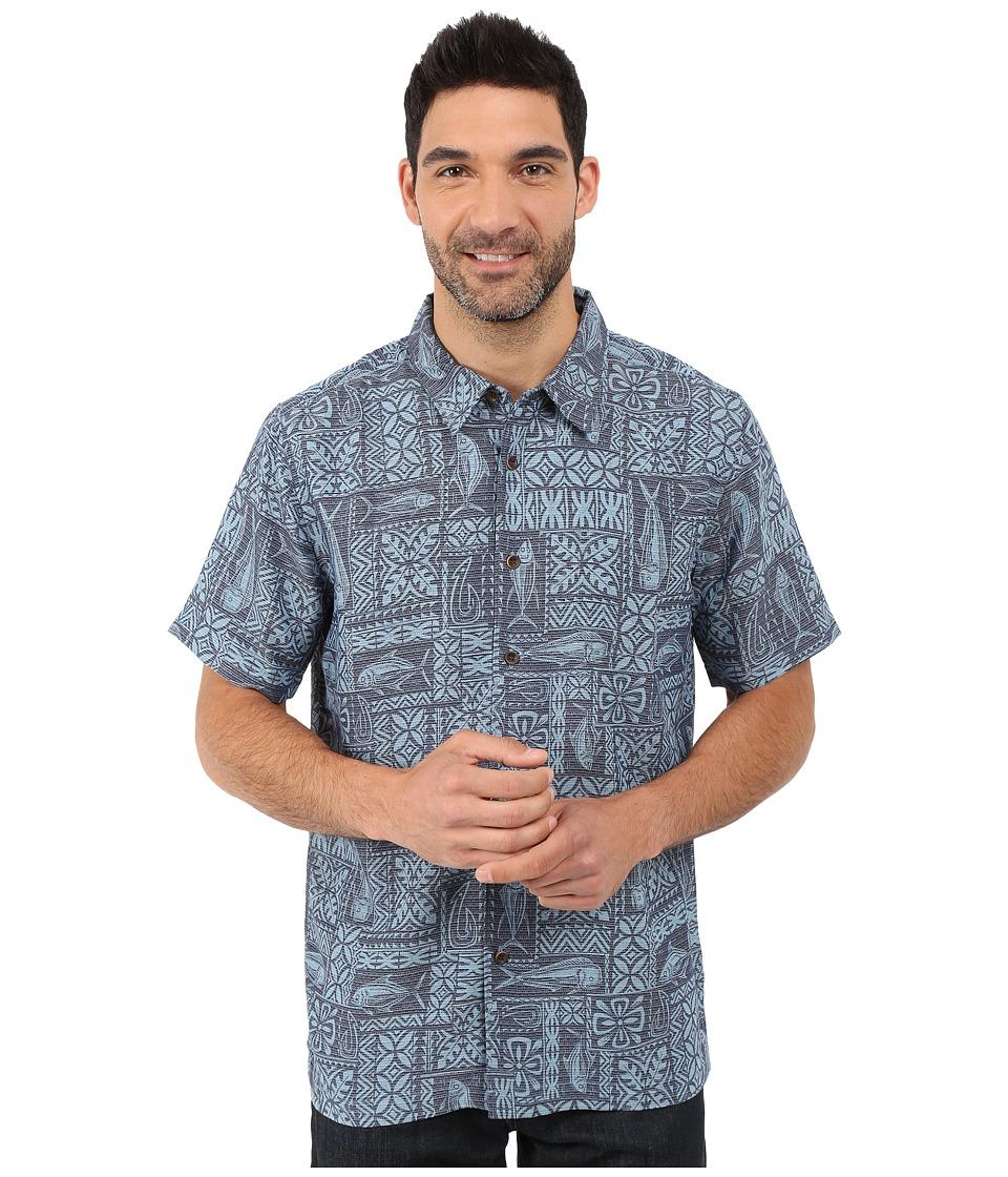 Quiksilver Waterman Sage Advice Shirt Provencial Mens Clothing