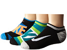 Nike Kids Graphic Cotton Cushion Low Cut 3-Pair Pack