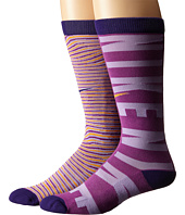 Nike Kids - Graphic Cotton Knee High 2-Pair Pack (Toddler/Little Kid/Big Kid)