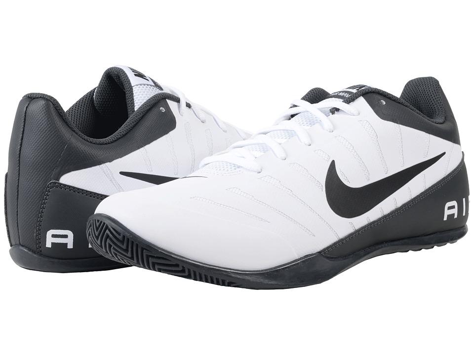 Nike - Air Mavin Low 2 (White/Black/Anthracite/Wolf Grey) Mens Basketball Shoes