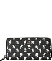 COACH - Printed Crossgrain Accordian Zip