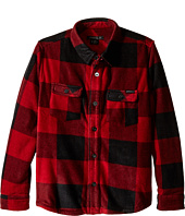 O'Neill Kids - Glacier Check Long Sleeve Shirt (Little Kids)