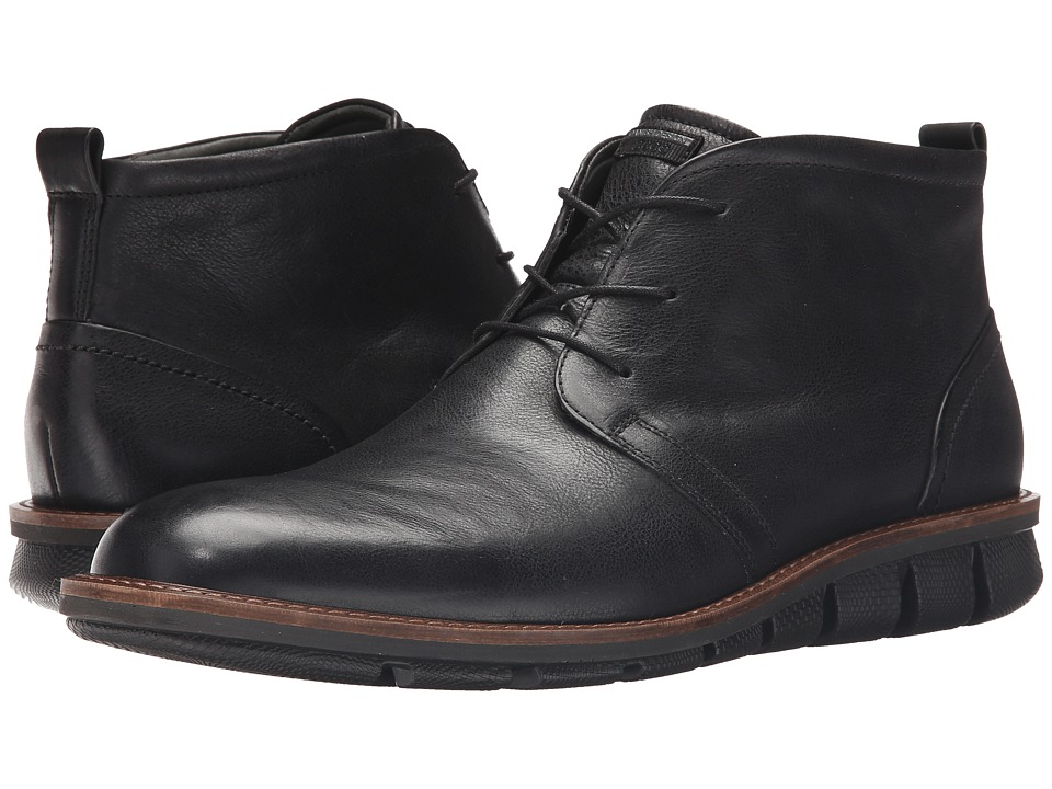 ECCO Jeremy Hybrid Boot (Black 1) Men