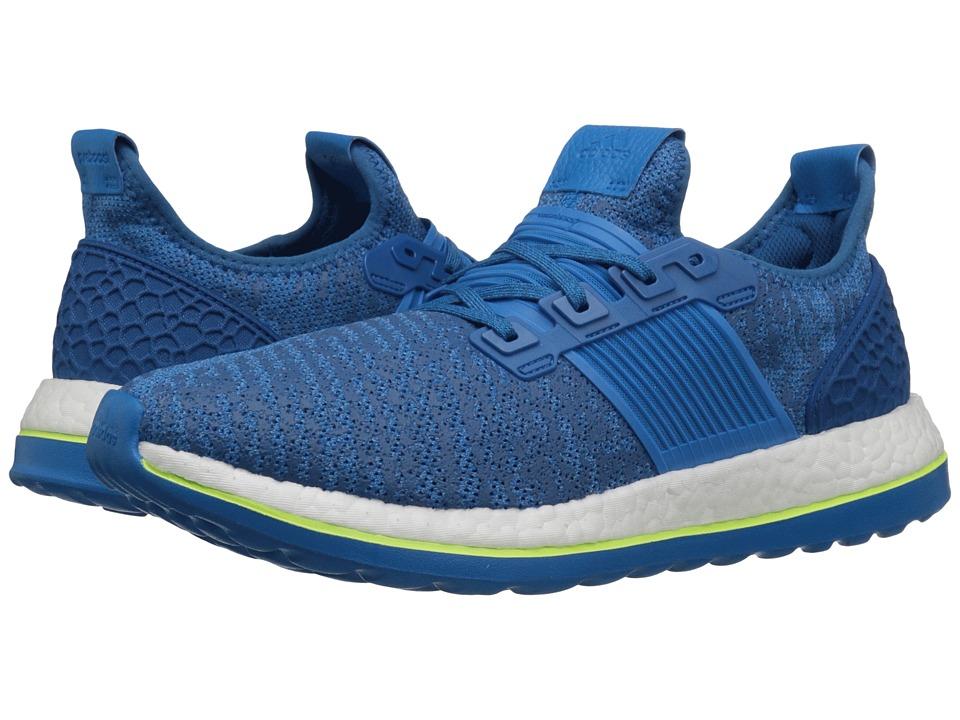 adidas Running - Pureboost ZG (EQT Blue/Shock Blue/Solar Yellow) Men