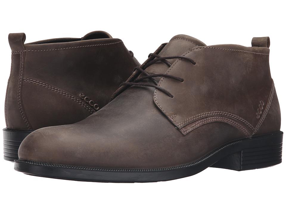 ECCO - Harold Derby Boot (Tarmac/Dark Clay) Men