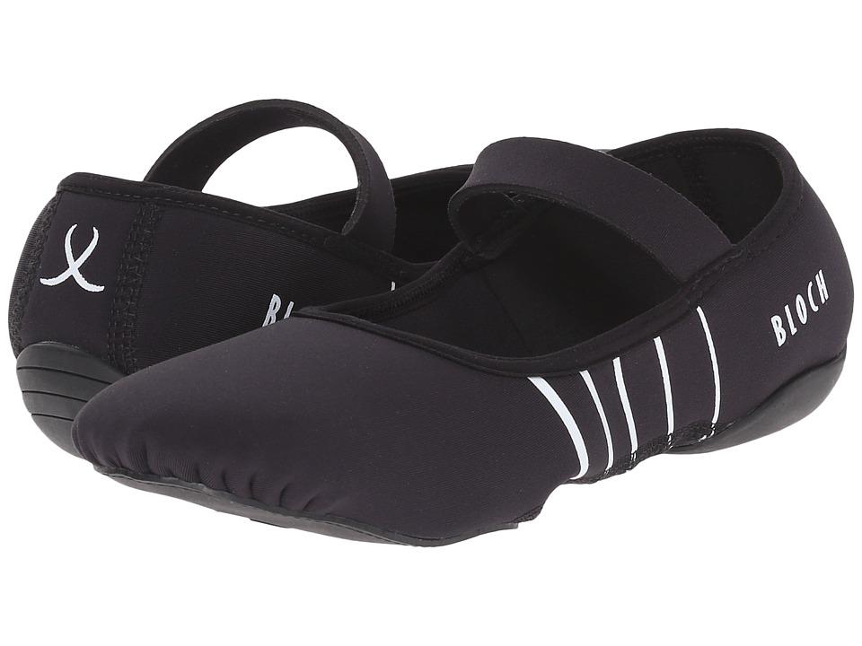 Bloch Contour Barre Black/White Womens Shoes