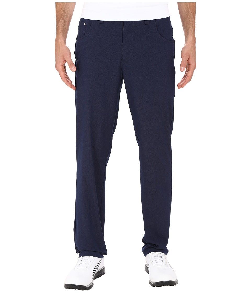 PUMA Golf 6 Pocket Pants Peacoat Mens Casual Pants