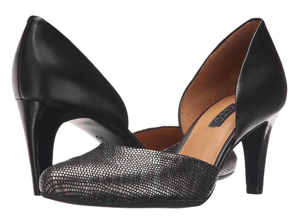 ECCO - Alicante (Black/Multi Metallic/Black) High Heels