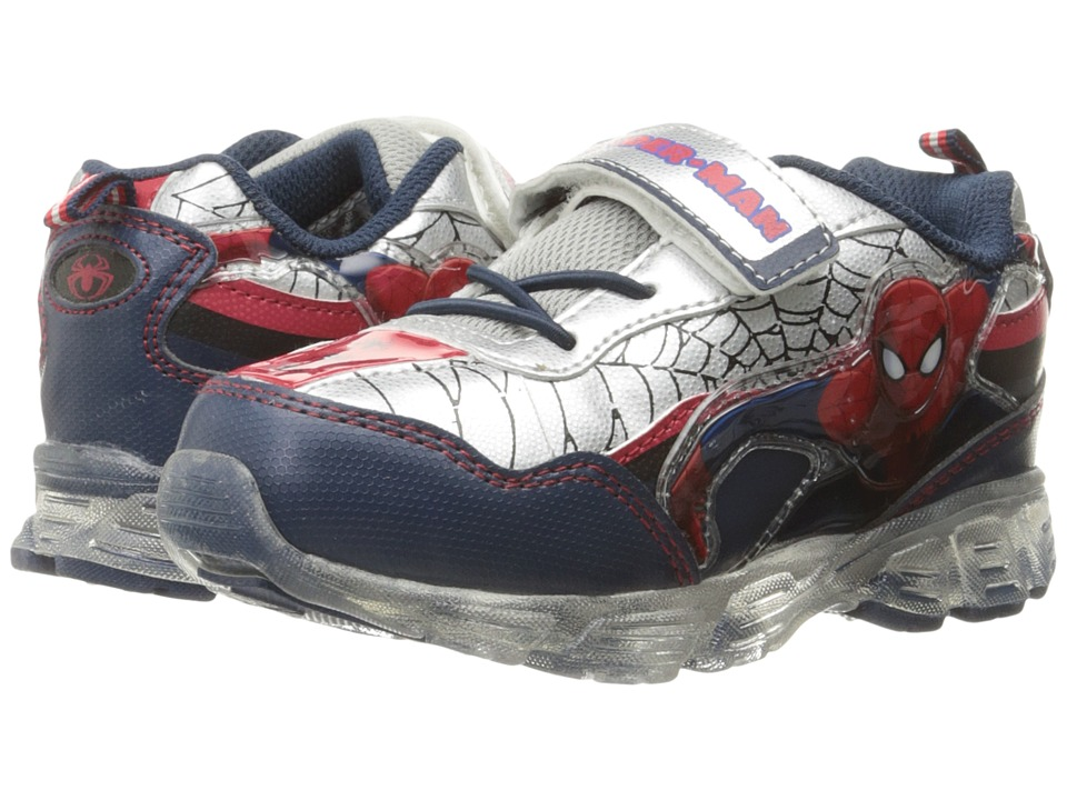 Favorite Characters Spider Man Sneaker Lighted Toddler/Little Kid Red/Black/Grey Boys Shoes