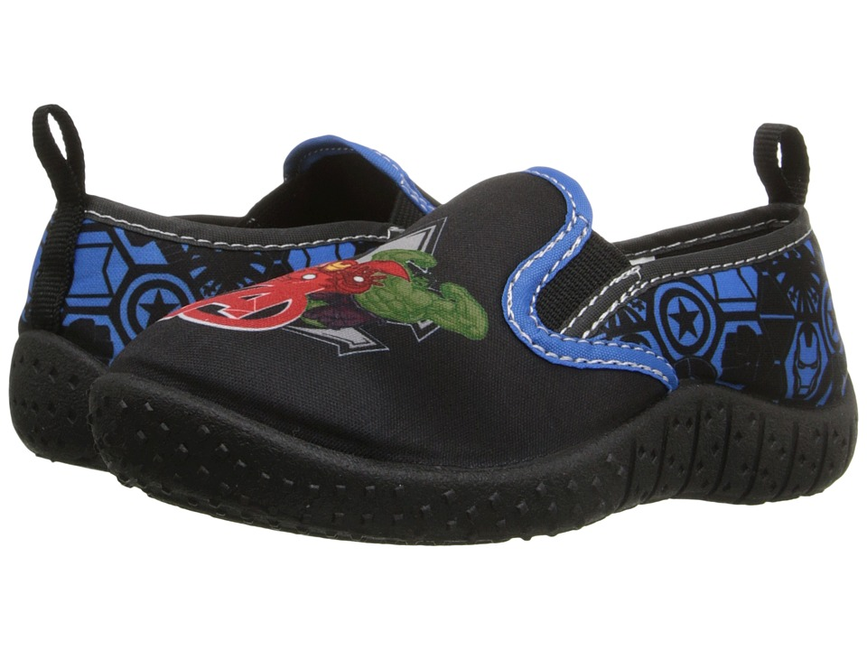 Favorite Characters Avengers Watershoe Toddler/Little Kid Black/Red/Royal Boys Shoes