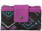 Roxy Sweet Haze Bi-Fold Wallet (Traveling Gypsy Combo Jade)