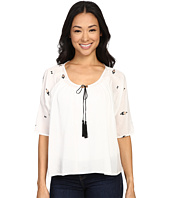 Bobeau - Zoe Embroidered Blouse
