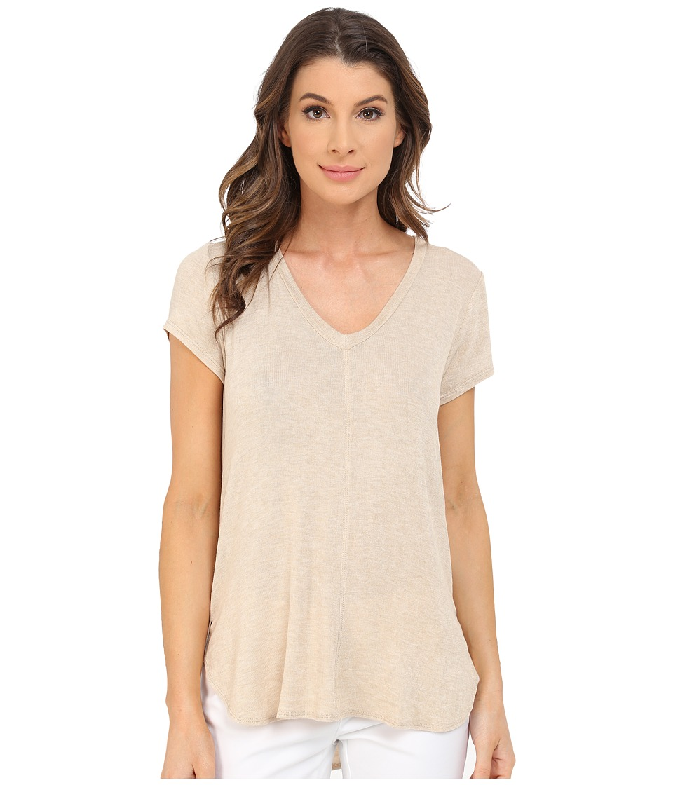 B Collection by Bobeau - Adley V-Neck High-Low T