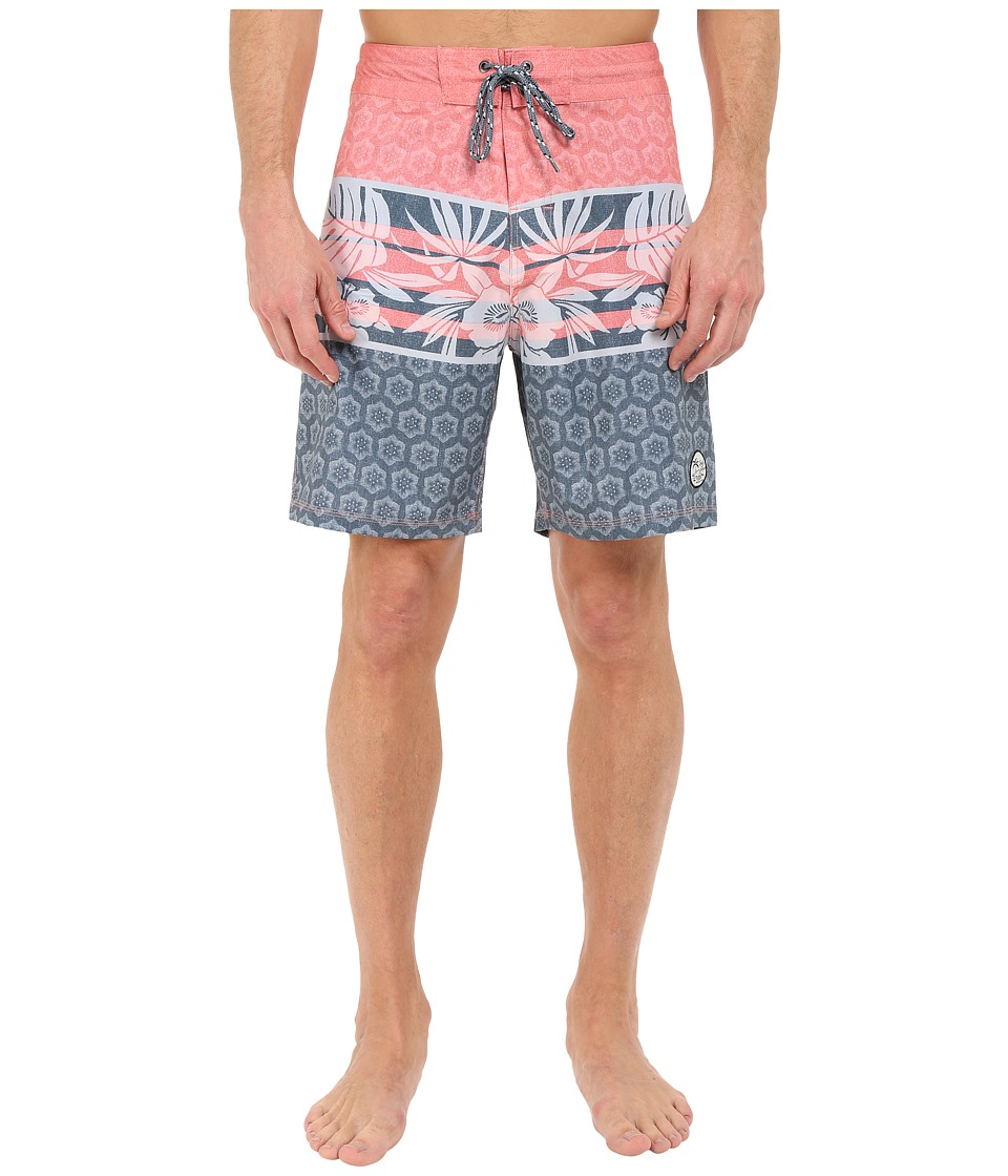 Body Glove Vaporskin Lotus Boardshorts Infrared Mens Swimwear