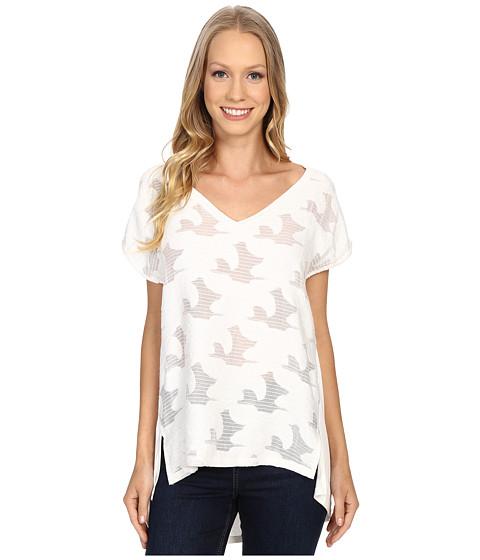 B Collection by Bobeau Chloe Mixed Media T-Shirt