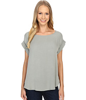 Bobeau - Brea Roll Sleeve Top