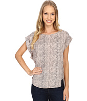 B Collection by Bobeau - Brea Roll Sleeve Top