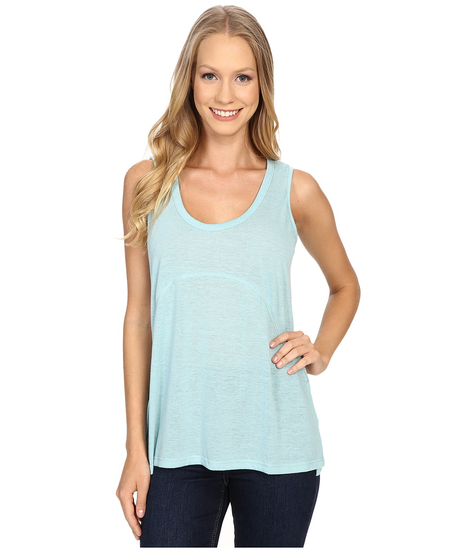 Bobeau Aria Knit Tank Top Aqua Womens Sleeveless