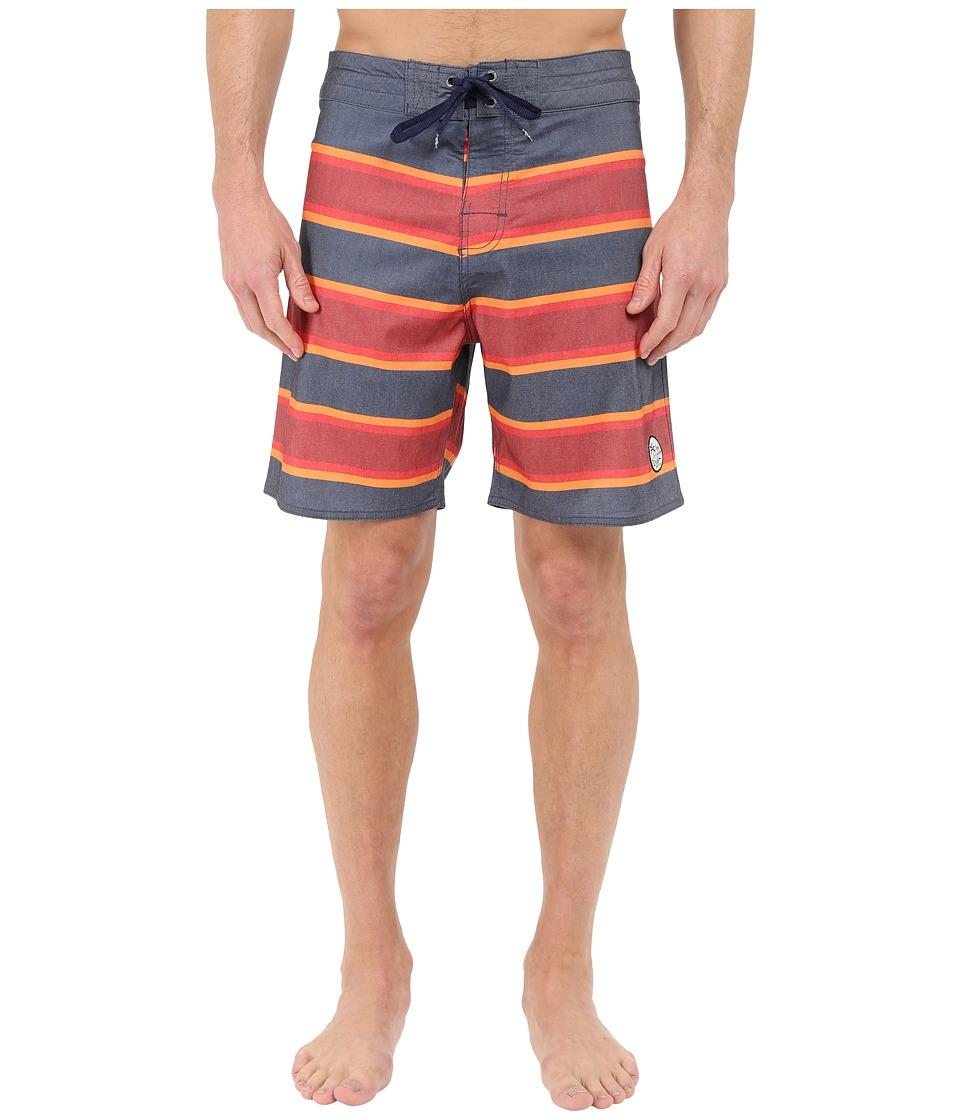 Body Glove Fairlane Boardshorts Indigo Mens Swimwear