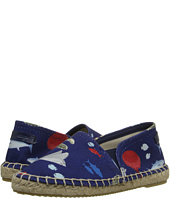Dolce & Gabbana Kids - Fish Printed Canvas Espadrille (Little Kid/Big Kid)