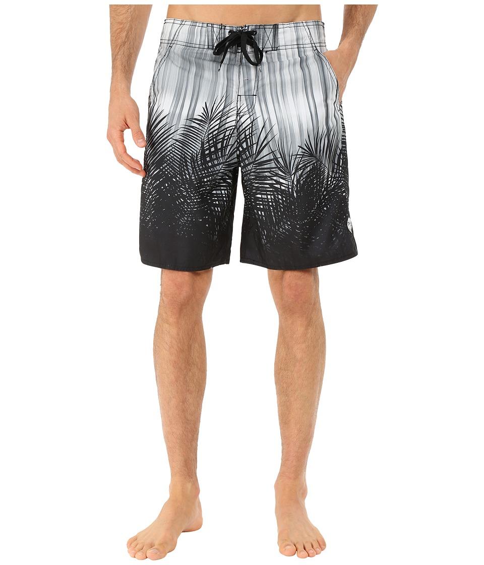Body Glove Ferndale V Boardshorts Black Mens Swimwear