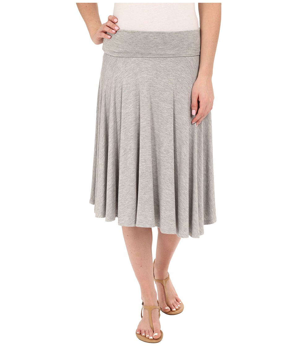 B Collection by Bobeau - Carrie Knit Circle Skirt (Heathe...