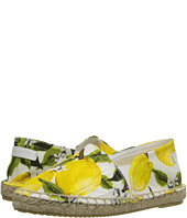 Dolce & Gabbana Kids - Printed Broccade Espadrille (Little Kid/Big Kid)