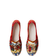 Dolce & Gabbana Kids - Printed Canvas Espadrille (Little Kid/Big Kid)