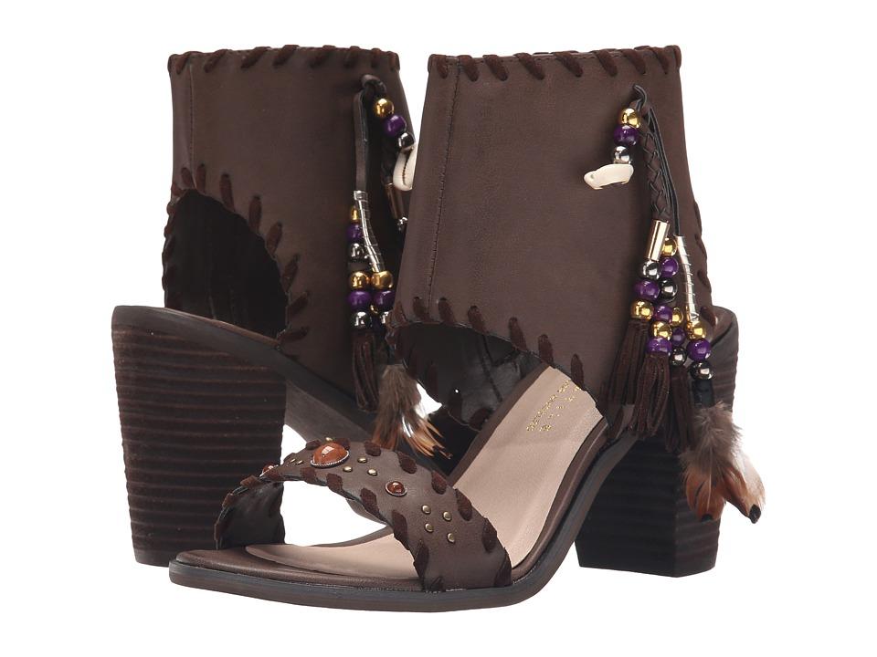 VOLATILE Boho Brown Womens Sandals
