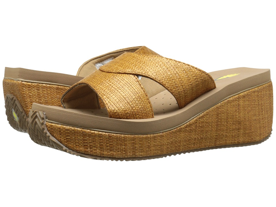 VOLATILE Howell Tan Womens Wedge Shoes