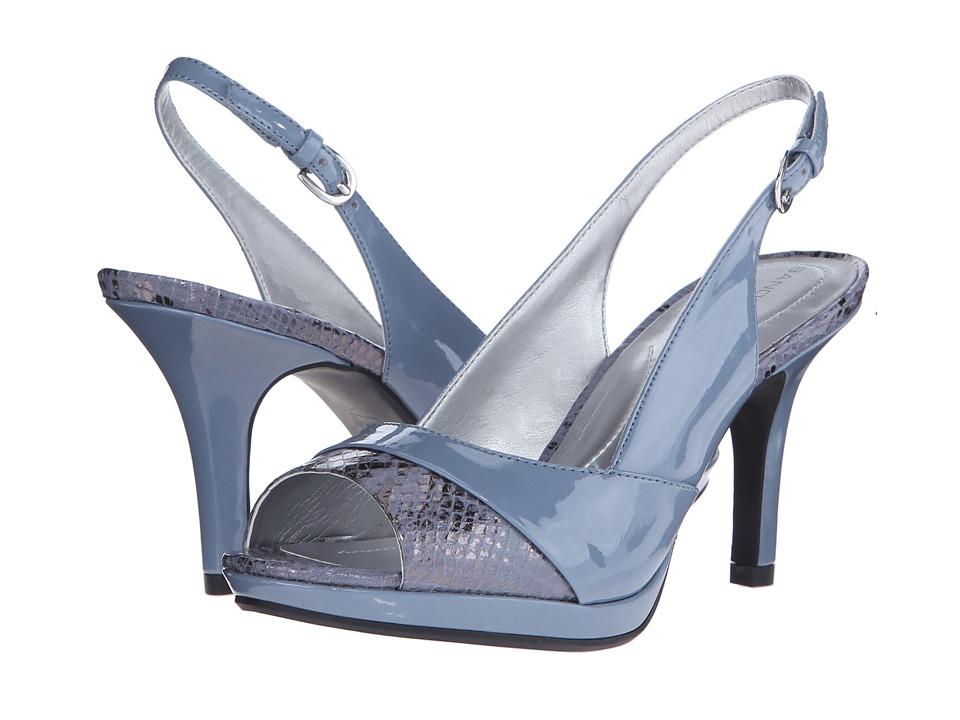 Bandolino Sagecrest Medium Blue/Medium Blue Synthetic Womens Shoes
