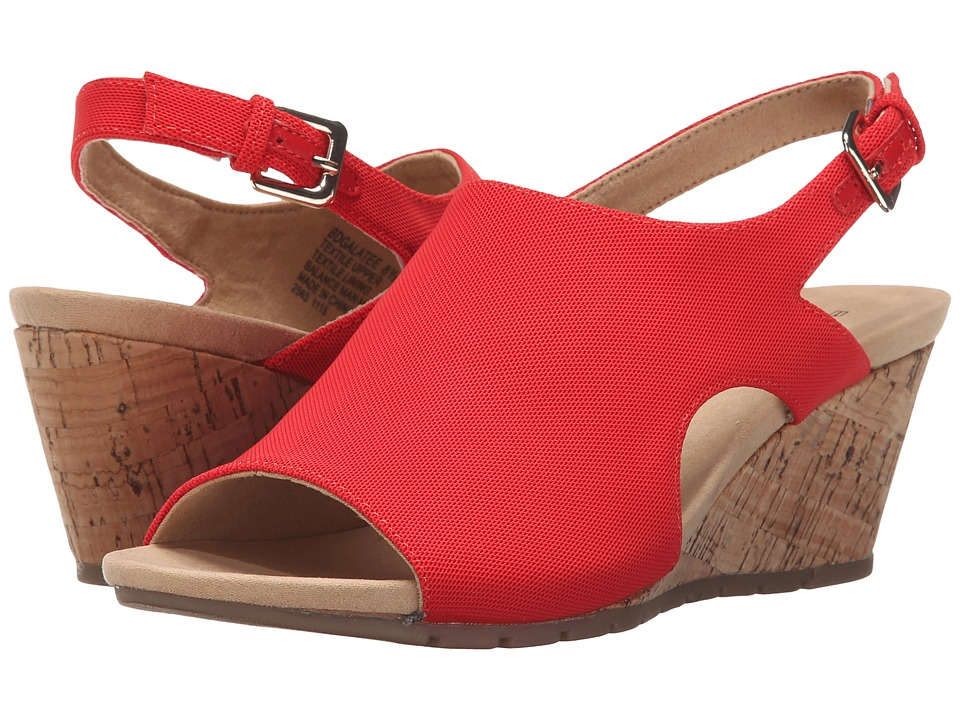 Bandolino Galatee Red Fabric Womens Shoes