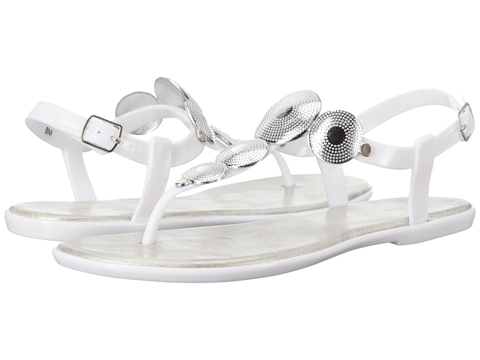 Bandolino Loocho White Synthetic Womens Shoes