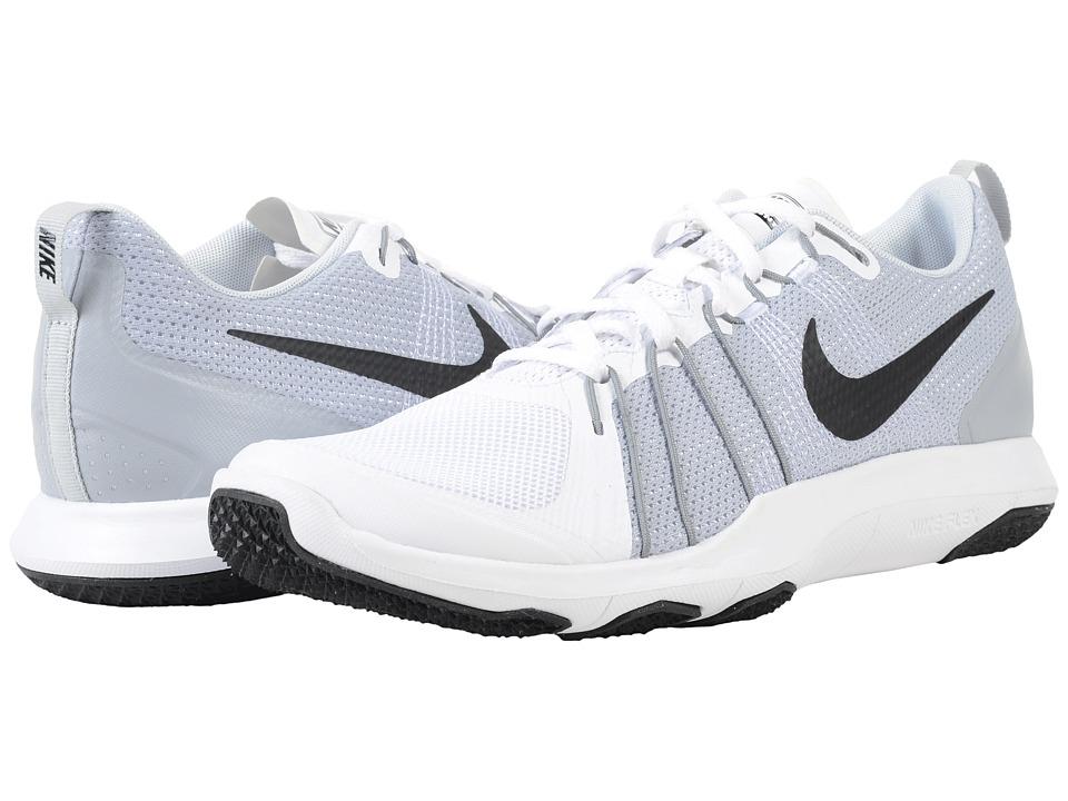 Nike Flex Train Aver (White/Pure Platinum/Black) Men