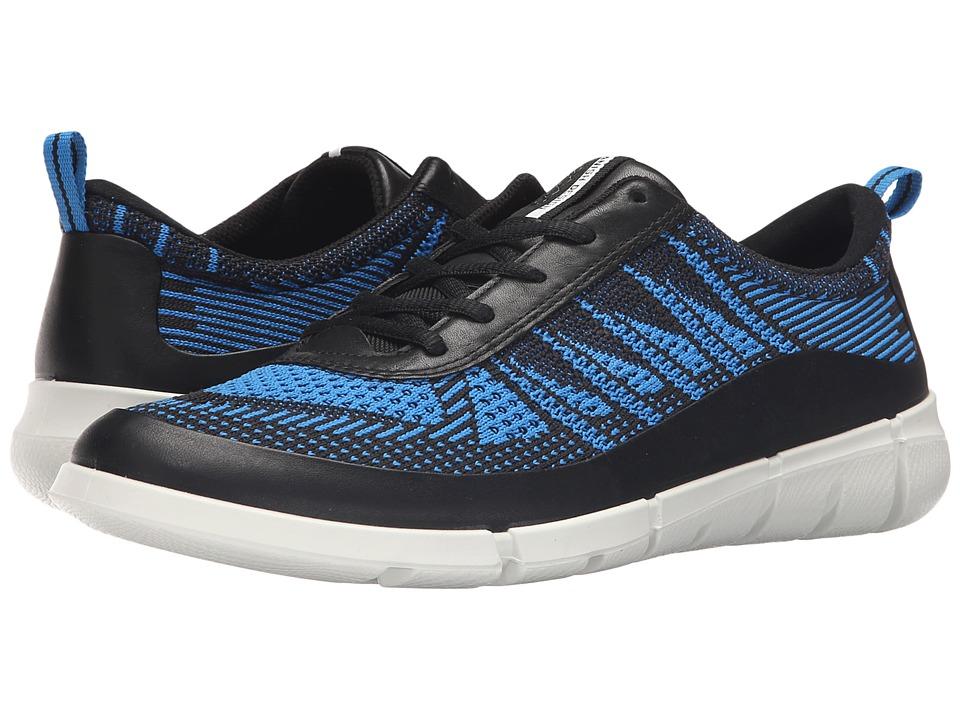 ECCO Sport Intrinsic Knit Black/Dynasty Mens Shoes