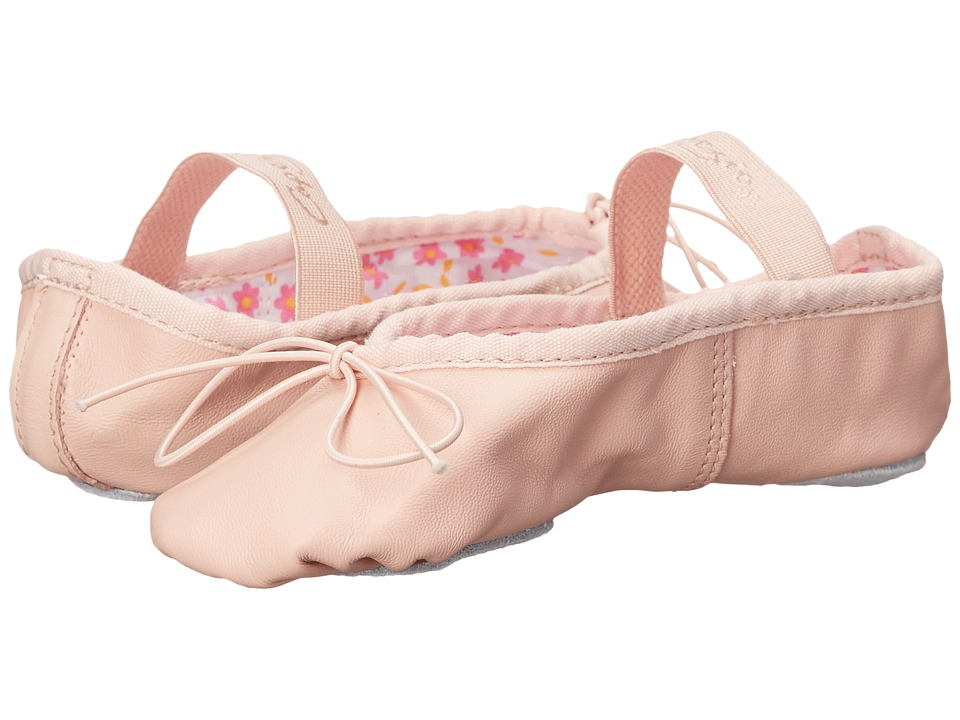 Capezio Kids Split Sole Daisy 205SC Toddler/Little Kid Ballet Pink Girls Shoes