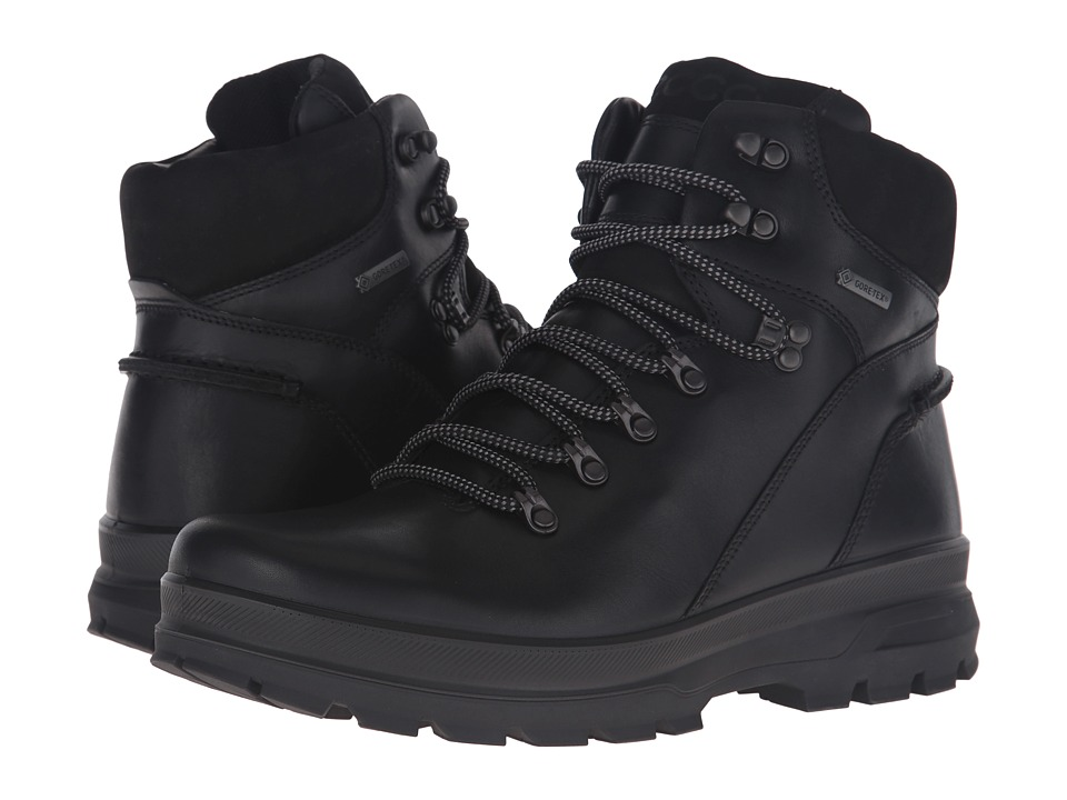 ECCO Sport Rugged Track GTX High (Black/Black) Men