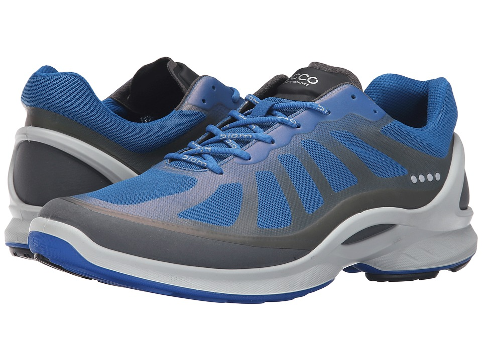 ECCO Sport Biom Fjuel Racer (Dark Shadow/Bermuda Blue) Men