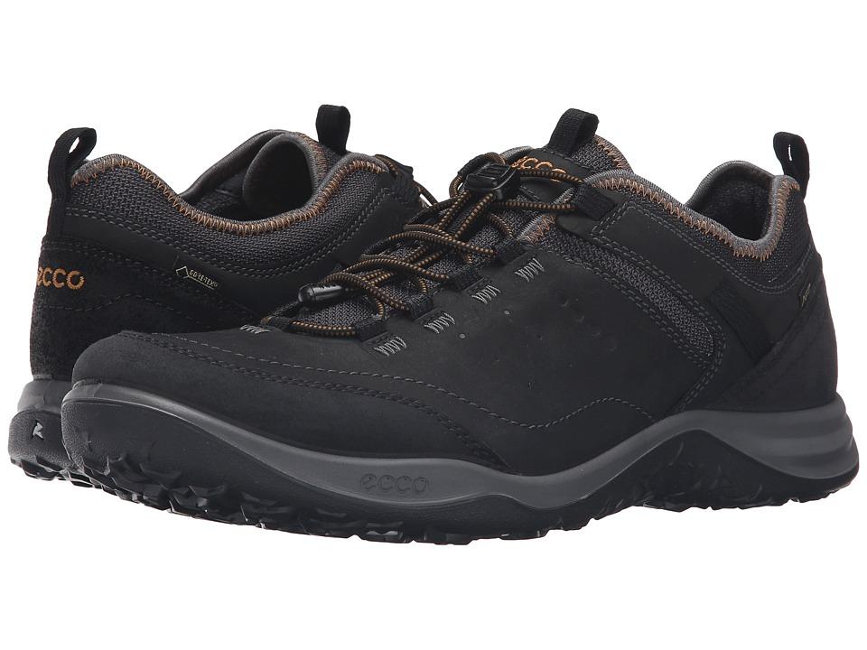 ECCO Sport - Espinho GTX (Black/Black) Mens Walking Shoes
