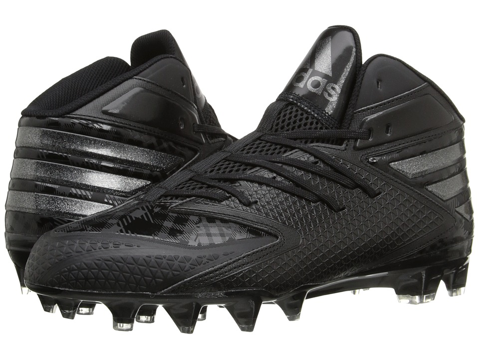 adidas - freak X CARBON Mid Football (Core Black/Core Black/Core Black) Men