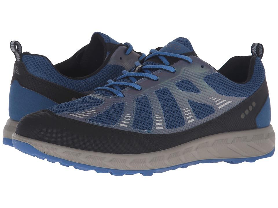 ECCO Sport - Terratrail (Black/Poseidon/Bermuda Blue) Men